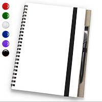 Блокнот A6 + ручка (блокноты под печать) блокнот с резинкой