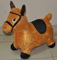 Прыгун плюшевый Лошадь 2 цвета BT-RJ-0012 (W02-3123-1)