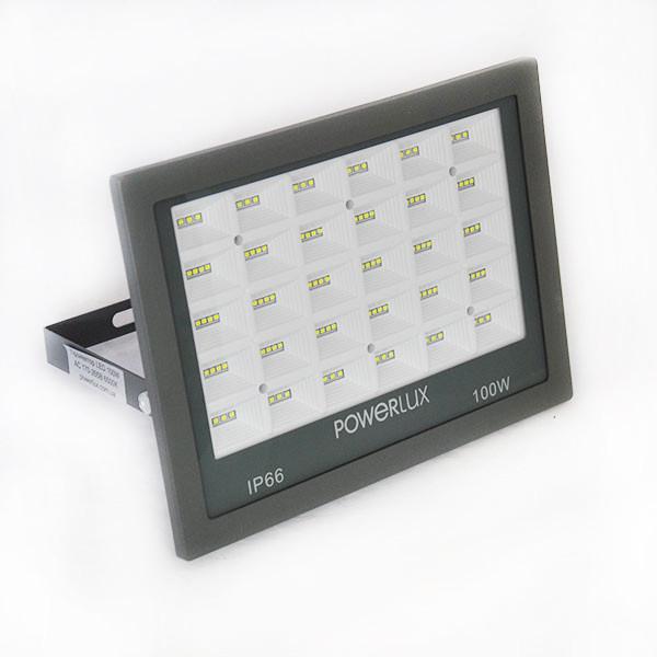 Прожектор світлодіодний POWERLUX 10007 GR 100W 6500K IP66