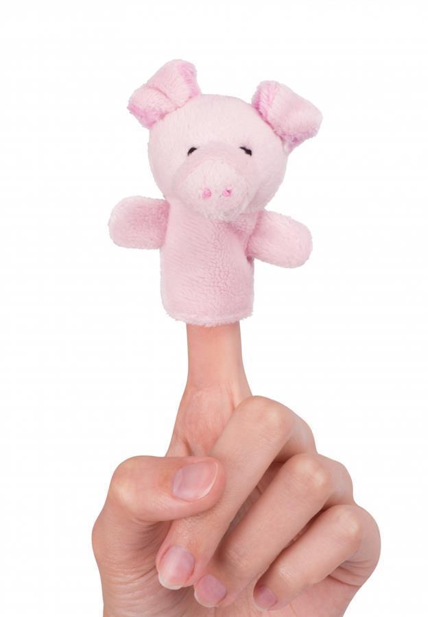 Кукла goki для пальчикового театра Свинка  15418G-5
