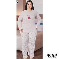 Байковая пижама женская COTTON MORE Турция 49101 73f67d50d3352