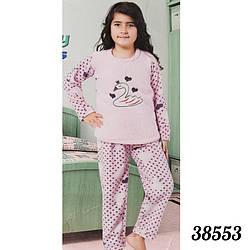 """Пижама детская девичья Лебедь """"Soft"""" Fancy Турция 38553"""