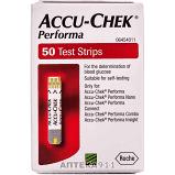 Тест полоска Акку-Чек перформа (Accu-Chek Performa) № 50