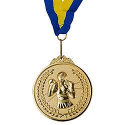 Медаль наградная, d=65 мм, бокс. Золото, серебро, бронза