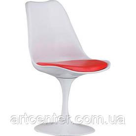 Стілець для офісу, стілець пластиковий для відвідувачів, стілець для кафе (стілець Тюльпан)