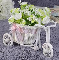 Декоративная корзинка, велосипед
