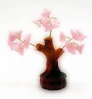Дерево с камнями 7,5 см,деревья счастья, декоративные деревья,искусственные бонсаи,товары для дома