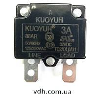 Ремкомплект защита 3А  вакуумного насоса  Value