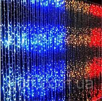 Гирлянда Водопад 2x2м 240 LED прозрачный провод