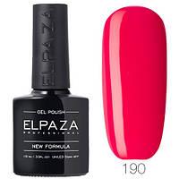Гель лак ELPAZA  190 Жгучий розовый, 10 мл