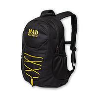 Функциональный и практичный черный городской спортивный рюкзак ACTIVE 25L от MAD™