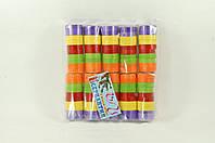 Серпантин бумажный Bonita разноцветный 100 шт 1 м