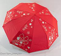 """Женский зонт полуавтомат с серебристой пропиткой на 10 спиц от фирмы """"Bellissimo""""."""