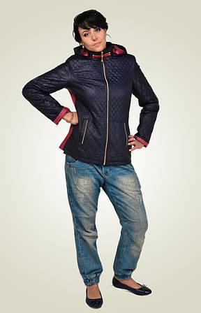 Модная стеганная молодежная куртка.