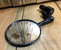 """Зеркало X17 круглое 3"""" с креплением в трубу руля"""