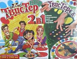 Игры для веселой компании.Напольная игра Твистерок.Развивающая игра детская для детей.