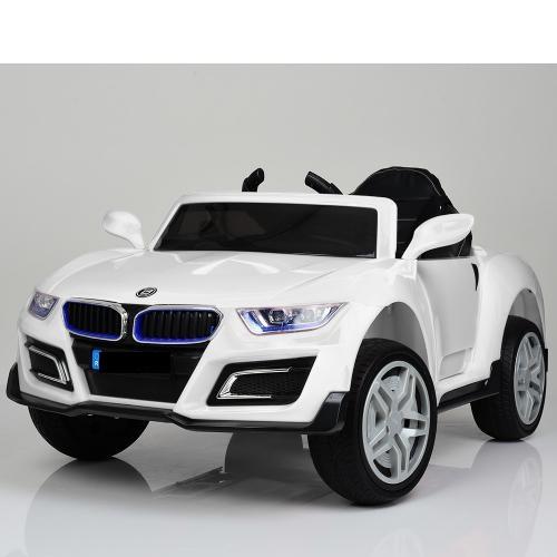 Дитячий електромобіль BMW, шкіряне сидіння, колеса EVA гума, дитячий електромобіль