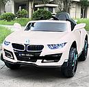 Дитячий електромобіль BMW, шкіряне сидіння, колеса EVA гума, дитячий електромобіль, фото 4
