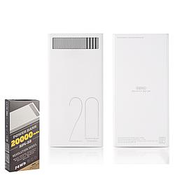 Портативний зарядний пристрій (Power Bank) REMAX Power Bank Revolution Series RPL-58 20000 mAh White