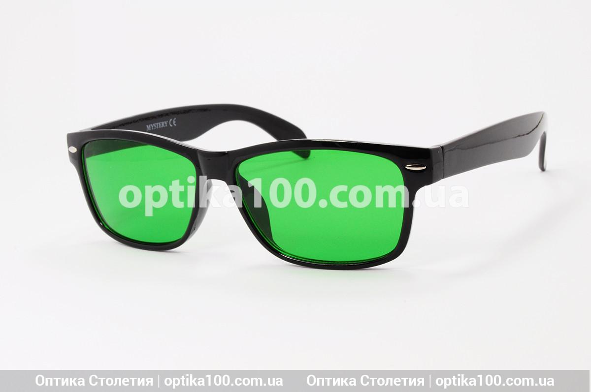 Глаукомні окуляри з зеленими стеклами. Якість перевірено!