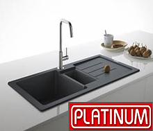 Гранітні кухонні мийки Platinum (Україна)