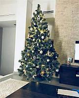 Ялинка новорічна Сосна Європейська пухнаста  2,5 м елка искусственная ель новогодняя