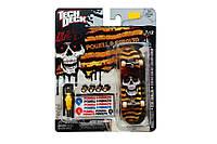 Набор фингерборд + детали Tech Deck Powell Peralta Skull Zebra yel