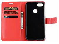 Чехол книжка для Huawei P9 Lite Mini Красный