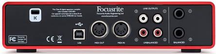 Аудіоінтерфейс Focusrite Scarlett 2i4 2Gen, фото 2