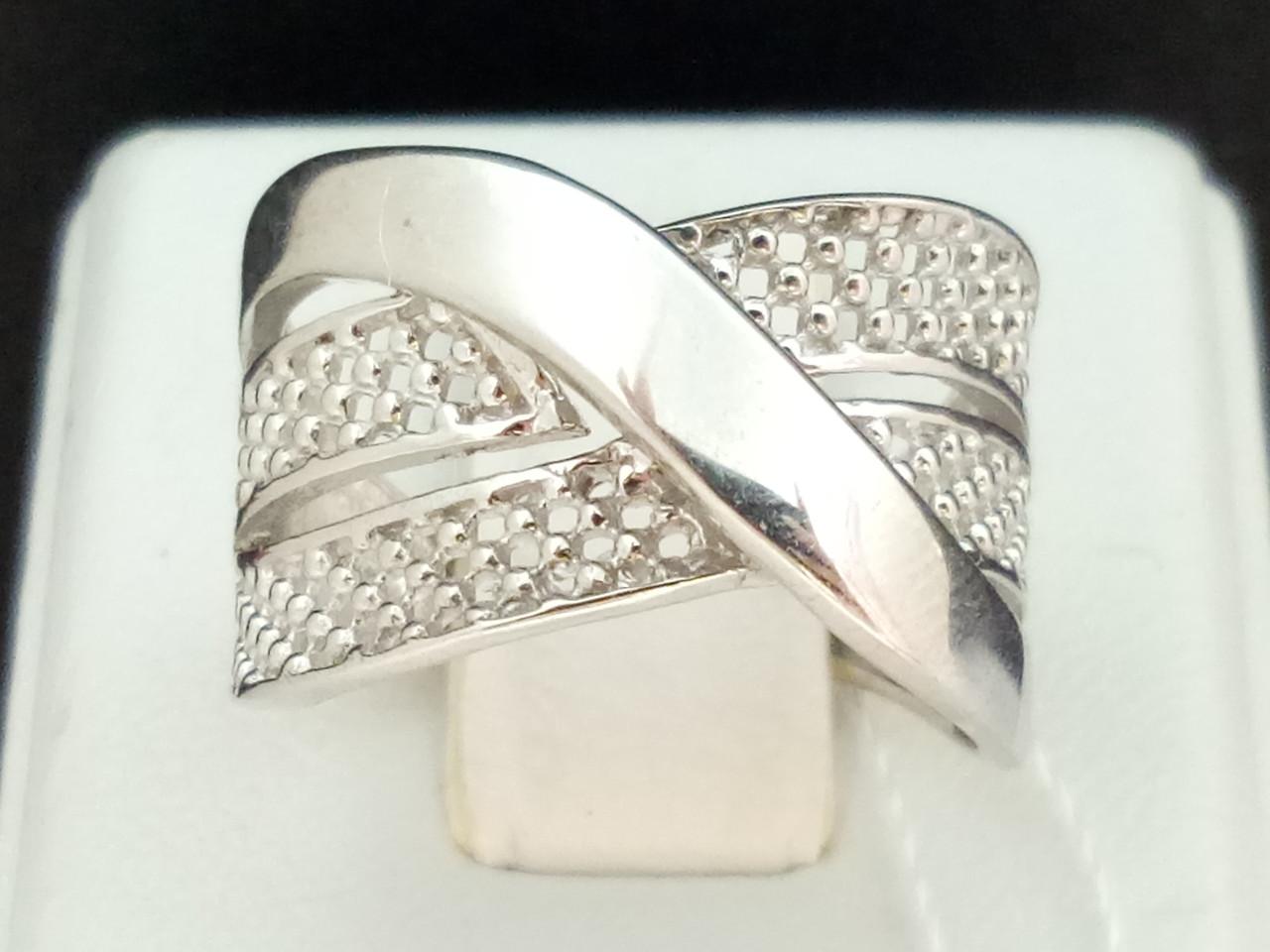 Серебряное кольцо. Артикул КБ068С 16,5