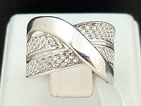 Серебряное кольцо. Артикул КБ068С 16,5, фото 1