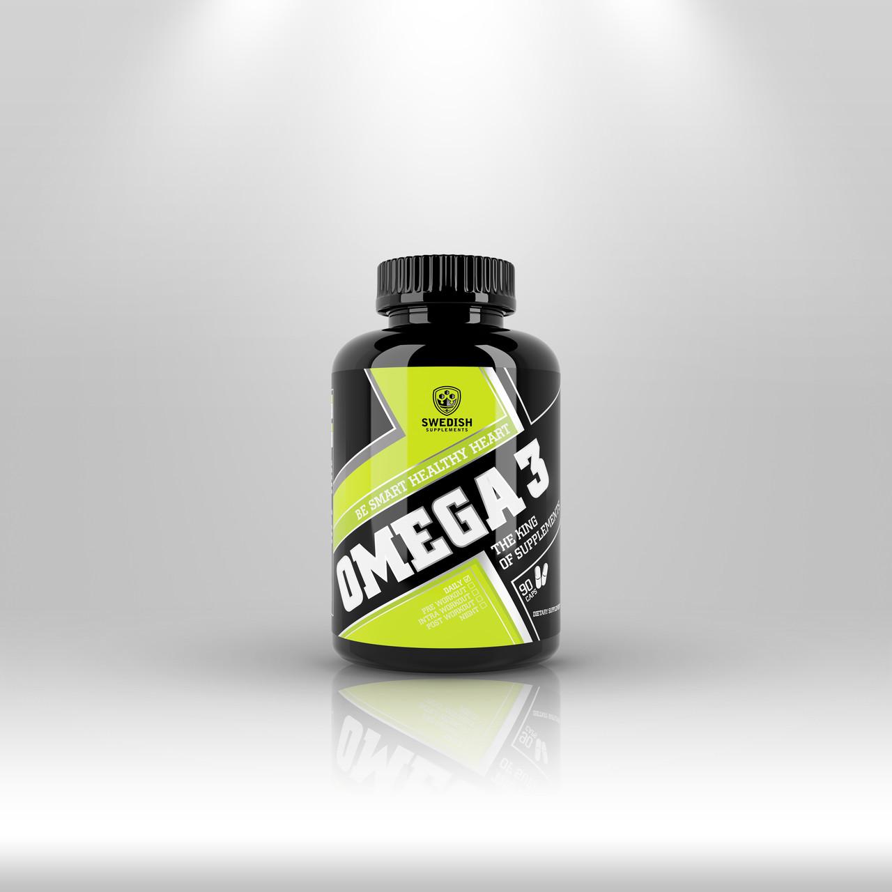 Swedish supplements - Omega 3 - 120 cap