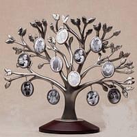 Рамка для фотографий дерево металлическое (30 см)