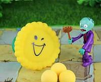 Зомби против растений - Подсолнух желтый/смех ( набор с шариками )