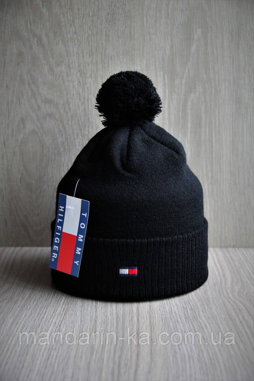Шапка мужская  черная   цвета в ассортименте