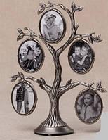 Рамка для фотографий дерево металлическое (28 см)