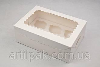 Зміна конструктиву коробок для 6-ти та 12-ти капкейків з прозорим вікном
