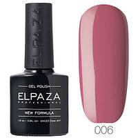Гель лак ELPAZA 006 Розовый сон, 10 мл