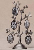 Рамка для фотографий дерево металлическое (20 см)