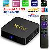 TV Box Smart TV MX10 4\64 Gb DDR4 And 8.1  НАСТРОЕНА