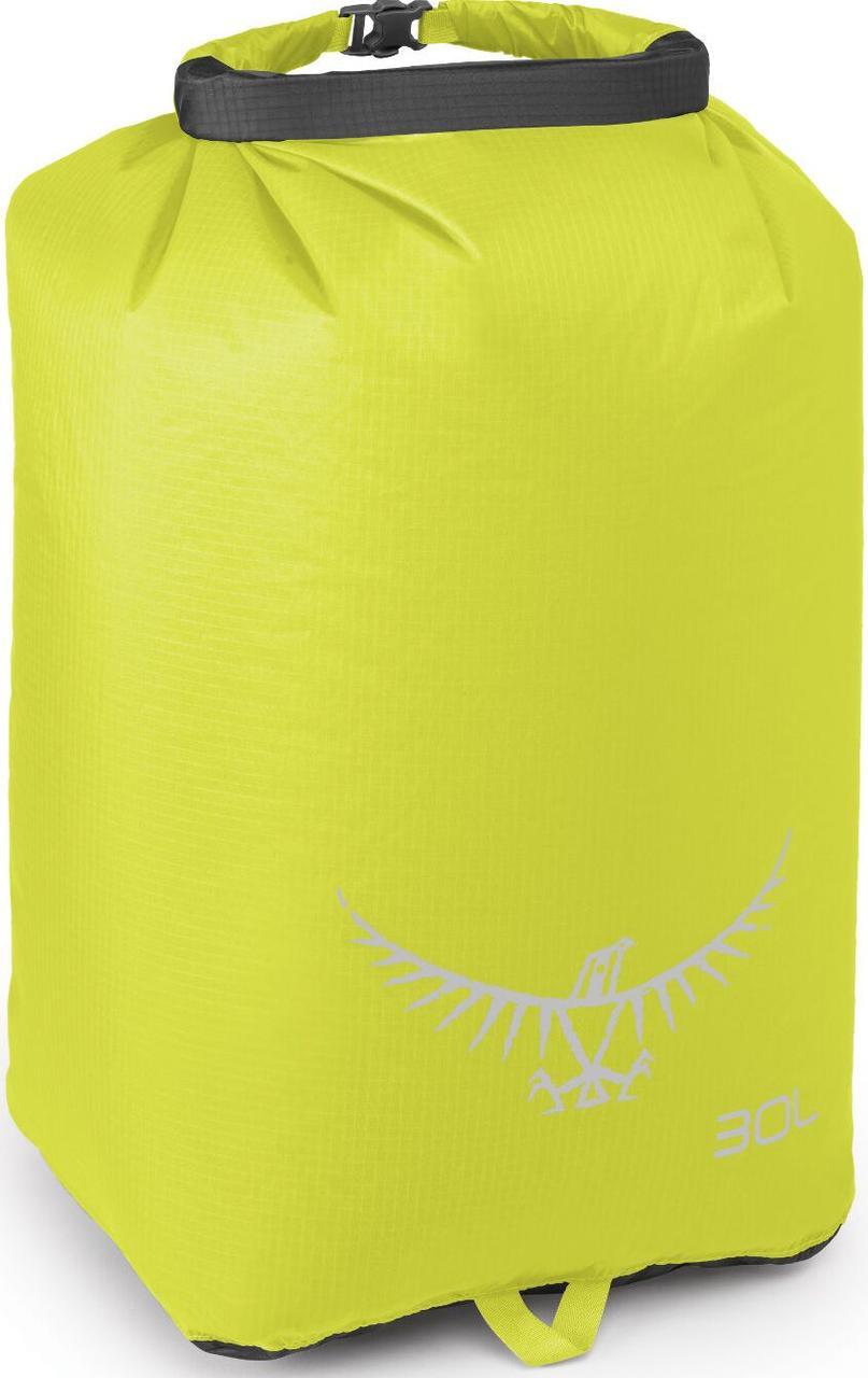 Гермомешок Osprey Ultralight Drysack 30L Electric Lime, зеленый