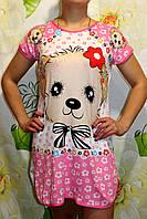 Ночная сорочка трикотаж, ночная рубашка, домашняя одежда для прекрасных женщин, сорочка хлопок. Опт и розница.