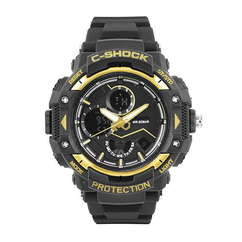 Часы наручные C-SHOCK GST-B100X Black-Gold, BOX