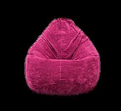 Бескаркасное кресло мешок Флок PufOn, L, Розовый, Розовый