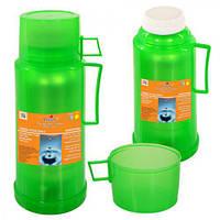 Термос пластик+стекло 500 мл купить со склада на 7 километре