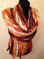 Шарф жатый атласный 615 (цв 10)
