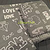 Постельный набор в детскую кроватку (3 предмета) Love