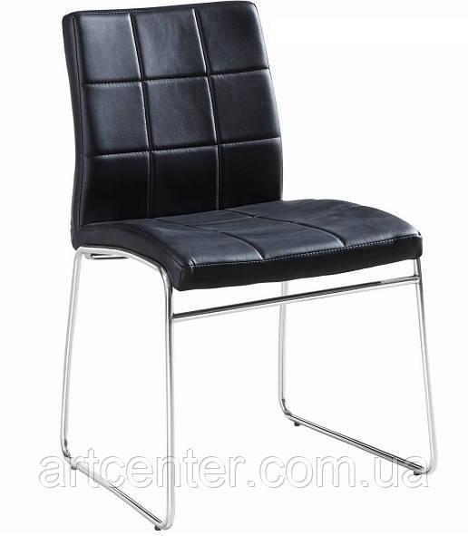 Стул для офиса, стул для посетителей, стул для кафе МАЙЯМИ (черный)
