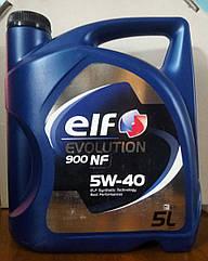 Моторное масло Renault Sandero 2 Elf 5w40 Evolution 900 NF (5л)(высокое качество)