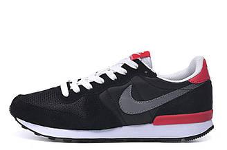 Мужские кроссовки Nike Internationalist Black Red|Мужские кроссовки найк черные оригинал